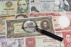 Collectibles Coins Banknotes Awards Stock Photo