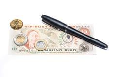 Collectibles invente des récompenses de billets de banque photos stock