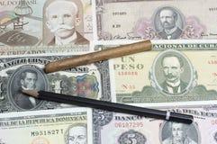 Collectibles invente des récompenses de billets de banque Images stock