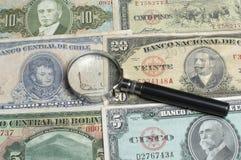 Collectibles invente des récompenses de billets de banque Photographie stock libre de droits