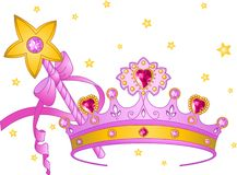 collectibles princess Zdjęcia Royalty Free
