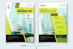 Collectief bedrijfs jaarverslagdekking, brochure of vliegerontwerp Pamfletpresentatie Catalogus met Abstracte geometrisch Stock Foto's