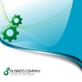 Collectief BedrijfsAchtergrond en pictogram. Royalty-vrije Stock Foto's