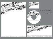 Collectief identiteitsmalplaatje - reeks 2 Stock Illustratie