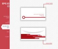 Collectief identiteitsontwerp voor zaken - envelop Stock Foto's