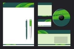 Collectief Vector BedrijfsMalplaatje Stock Afbeeldingen