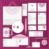 Collectief violet het mozaïekpatroon van het identiteitsmalplaatje Stock Afbeeldingen