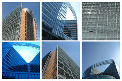 Collectieve gebouwen Stock Foto
