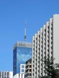 Collectieve gebouwen en toren Stock Afbeeldingen