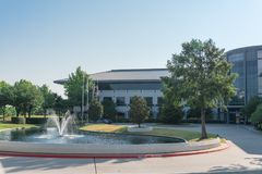 Collectieve hoofdkwartiercampus van Keurig Dr. Pepper in Plano, Texa Stock Afbeeldingen