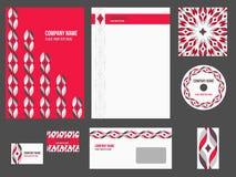 Collectieve identiteit - kantoorbehoeften voor bedrijf Royalty-vrije Stock Afbeelding