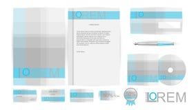Collectieve Identiteitsmalplaatjes in Vector Royalty-vrije Stock Foto