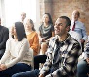 Collectieve Seminarieconferentie Team Collaboration Concept royalty-vrije stock fotografie