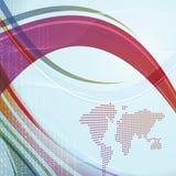 Collectieve wereld Stock Afbeelding