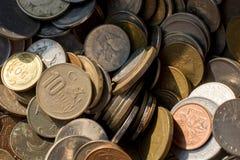 Collectiions velhos da moeda do metal Imagens de Stock Royalty Free