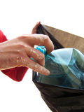 Collecting garbage Royalty Free Stock Photography