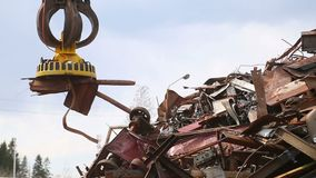 Collecting loading transporting and unloading of scrap metal