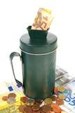 Collecting money Stock Photo