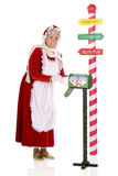 Collecting the North Pole Mail Royalty Free Stock Photos