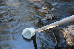 Free Collecting Water Sample Royalty Free Stock Photos - 119639808