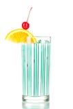 Collectio del cocktail: Latte blu Immagine Stock Libera da Diritti