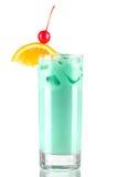 Collectio van de cocktail: Blauwe melk stock fotografie
