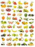 Collection écologique de fruit Image libre de droits