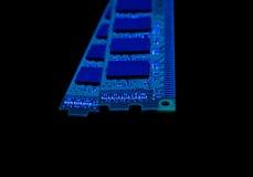 Collection électronique - modu de mémoire à accès sélectif d'ordinateur (RAM) Photo stock