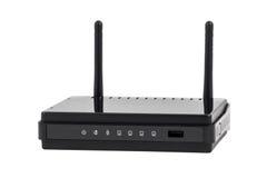 Collection électronique - RO sans fil noir de Wi-Fi de réseau Internet Photos libres de droits