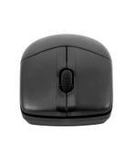 Collection électronique - souris noire optique sans fil d'ordinateur Image libre de droits