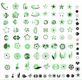 Collection of 90 more company logos design Royalty Free Stock Photos