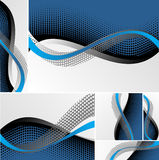 Collection abstract background Royalty Free Stock Photos