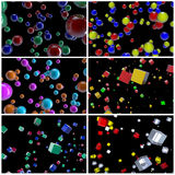 Collection. Abstract background Royalty Free Stock Photography