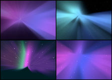 Collection of Abstract Backgrounds Royalty Free Stock Images