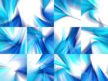 Blue color abstract backgrounds stock illustration