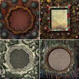 Collection abstract frame Stock Images