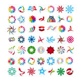Collection of abstract icons. Vector collection of abstract icons Royalty Free Stock Image