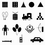 Collection of abstract symbols Vector illustration Royalty Free Stock Photography