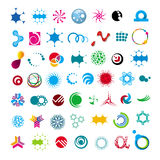 Collection of abstract universal character royalty free illustration