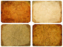 A collection of abstract vintage background. Royalty Free Stock Image