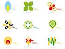 Collection abstraite de logo Image stock