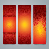 Collection of African banner design. Royalty Free Stock Photo