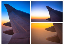 Aircraft wings Royalty Free Stock Image