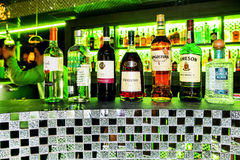 Collection of alcoholic drinks Stock Photography