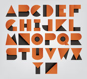 Collection of alphabet letters Royalty Free Stock Images