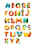 Collection of alphabet letters logos design Royalty Free Stock Photography