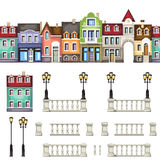 Collection of architectural elements Stock Photo