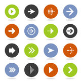 Arrow icon8 Stock Photo