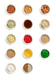 Collection of Asian Prosperity Toss, Lohei, Yusheng, yee sang ingredients Stock Photo