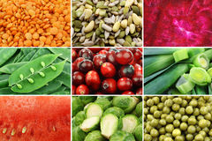 Collection of assorted vegetables Royalty Free Stock Images
